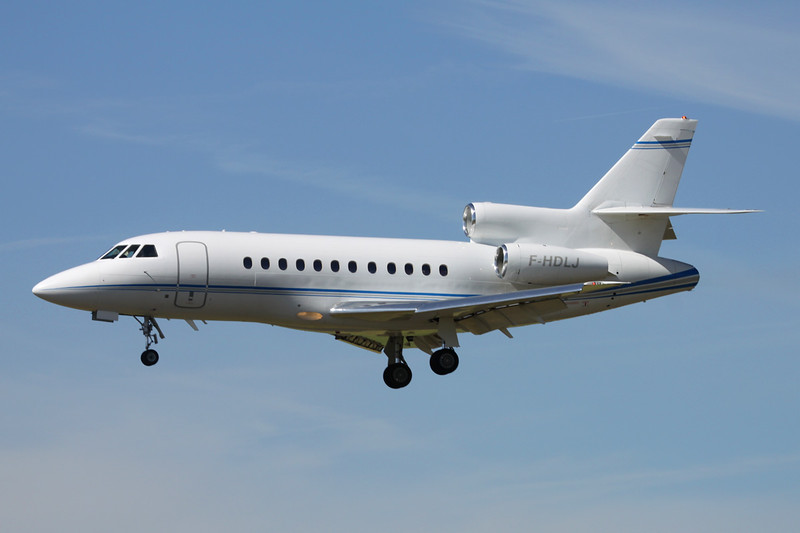 F-HDLJ Dassault Falcon 900EX Easy c/n 165 Paris-Le Bourget/LFPB/LBG 10-07-16