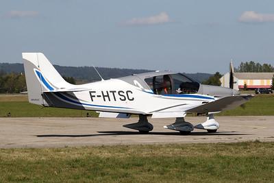 F-HTSC Robin DR.400-140B Dauphin 4 c/n 2699 Pontarlier/LFSP 21-09-19