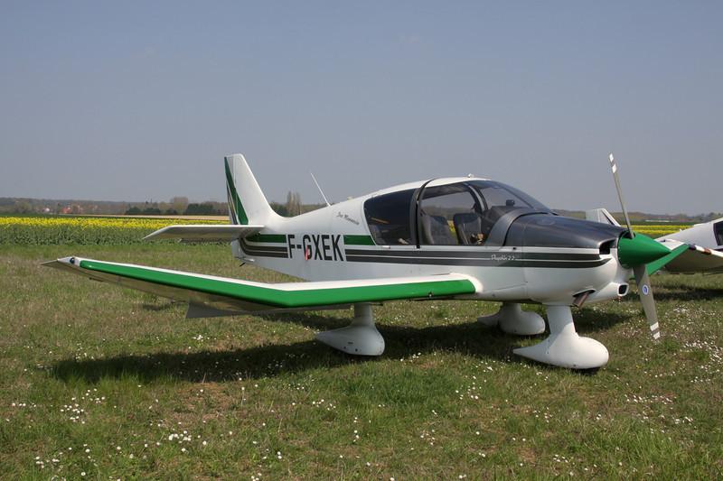 F-GXEK Robin DR.400-120 Petit Prince c/n 2523 Beaune/LFGF/XBV 17-04-10