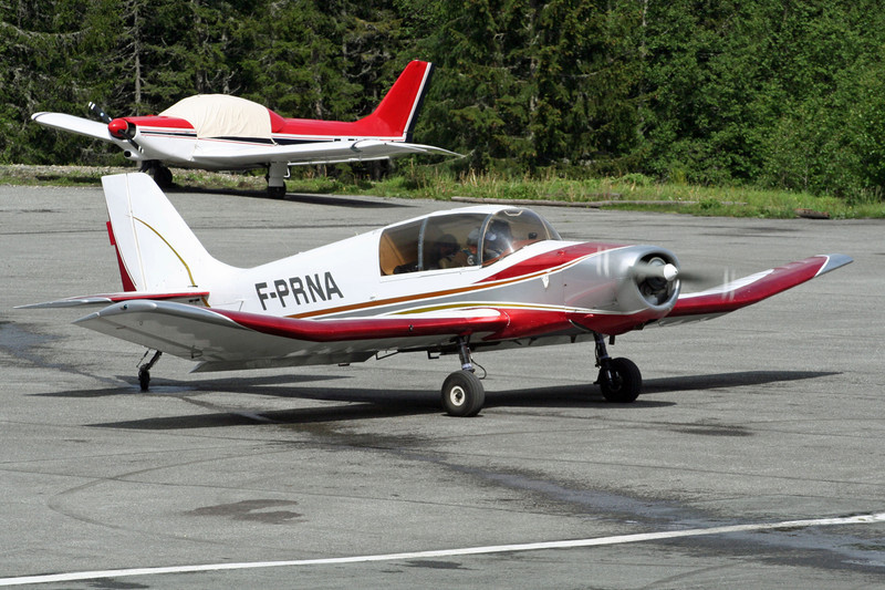 F-PRNA Jodel D.140E Mousquetaire c/n 431 Megeve/LFHM/MVV 13-06-07