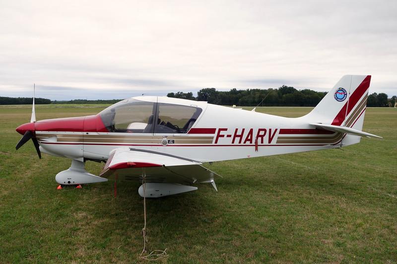 F-HARV Robin DR.400-140 Dauphin 4 c/n 2625 Chateauroux-Villers/LFEJ 27-08-15