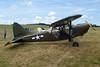 F-AYLV (299107) Stinson L-5B Sentinel c/n 76-1348 Schaffen-Diest/EBDT 16-08-15