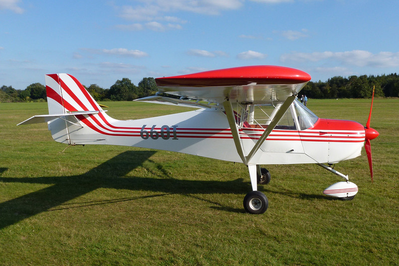 66-OI (F-JSWI) Denney Kitfox c/n AT9717 Verviers-Theux/EBTX 16-09-12