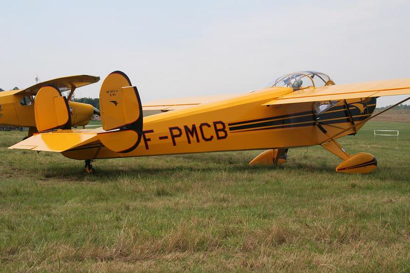 F-PMCB SNCAC NC.854CM c/n 01 Schaffen-Diest/EBDT 12-08-07