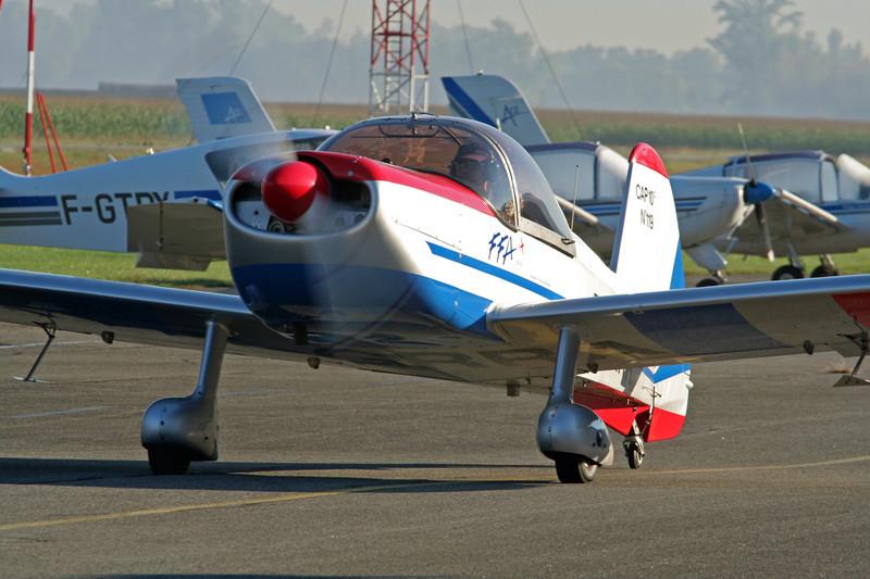 F-GRRA Mudry CAP-10B c/n 119 Grenoble-Le Versoud/LFLG 01-09-06