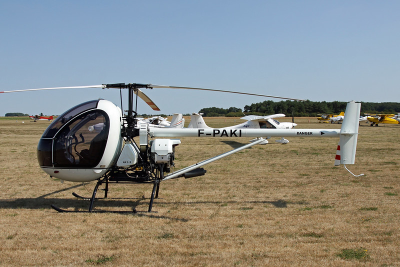 F-PAKI Aerokopter AK-1-3 c/n 0063 Blois/LFOQ/XBQ 01-09-18