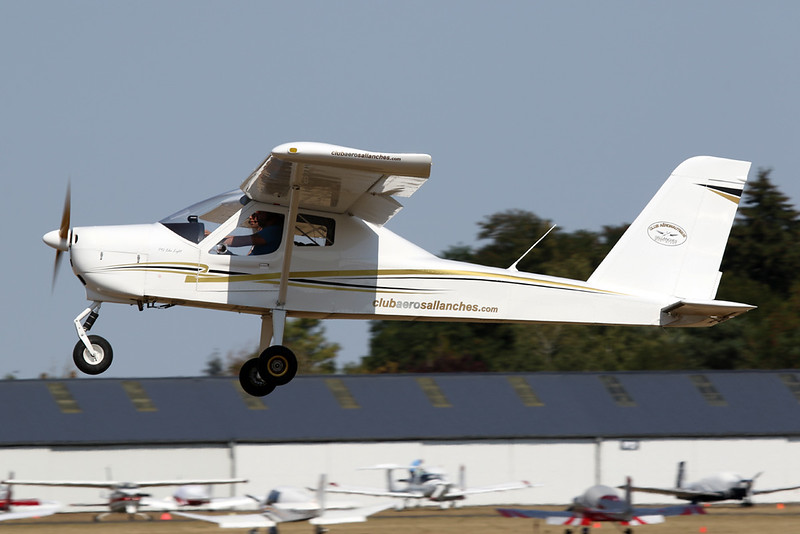 74-AJN (F-JCIM) Tecnam P.92 Echo Light c/n unknown Blois/LFOQ/XBQ 01-09-18