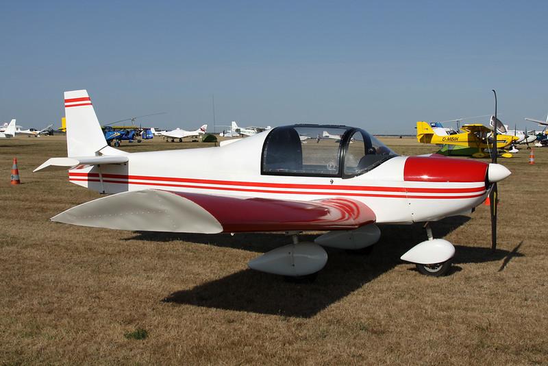 19-CR (F-JIRC) Zenair CH.601 Zodiac c/n unknown Blois/LFOQ/XBQ 02-09-18