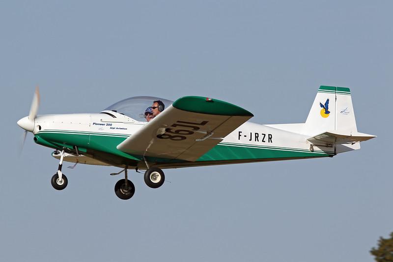 86-JL (F-JRZR) Alpi Aviation Pioneer 200 c/n unknown Blois/LFOQ/XBQ 01-09-18