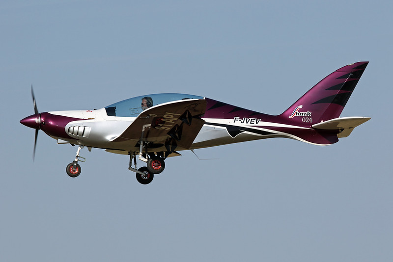 91-API (F-JVEV) Shark Aero Shark c/n 024/2013 Blois/LFOQ/XBQ 01-09-18
