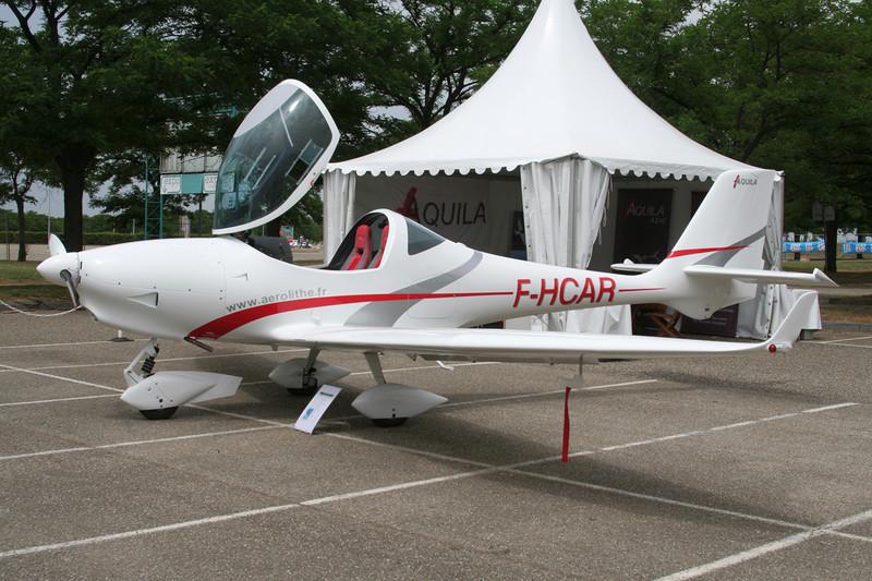 F-HCAR Aquila A.210 c/n 139 Lyon-Bron/LFLY/LYN 17-06-06