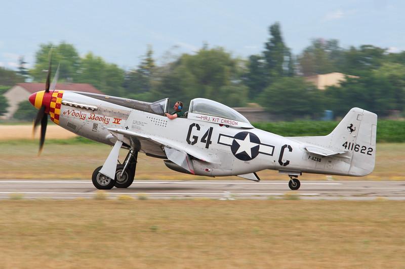 F-AZSB (411622/G4-C) North American P-51D Mustang c/n 122-40967 Valence/LFLU/VAF