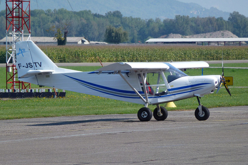 38-?? (F-JSTV) ICP MXP-740 Savannah c/n unknown Grenoble-Le Versoud/LFLG 11-09-11