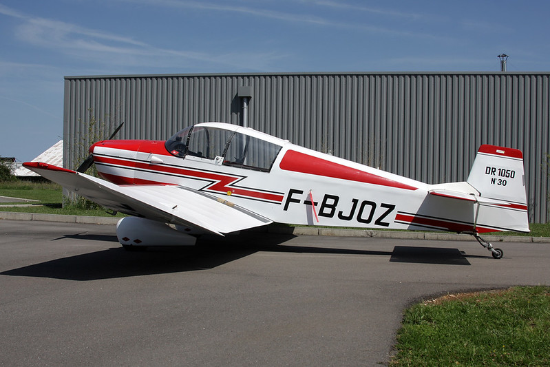 F-BJOZ SAN Jodel DR.1050 c/n 30 Dijon-Darois/LFGI 17-06-12