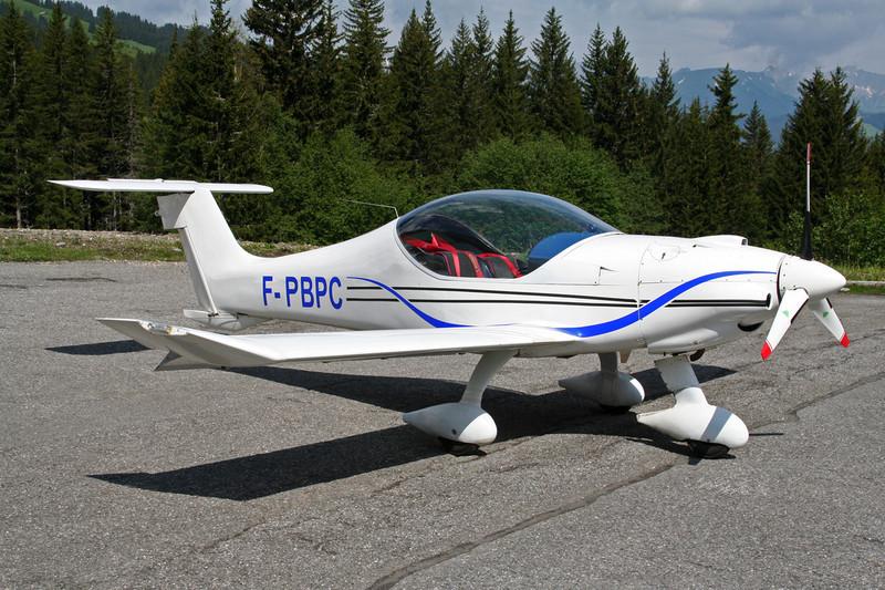 F-PBPC Dyn'Aero MCR-01 Banbi c/n 46 Megeve/LFHM/MVV 10-06-07