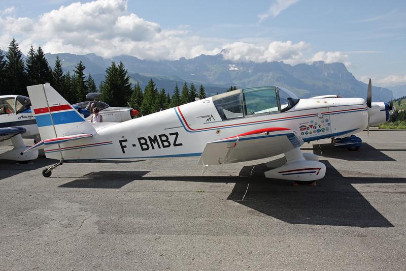 F-BMBZ SAN Jodel D.140C Mousquetaire c/n 115 Megeve/LFHM/MVV 04-07-08