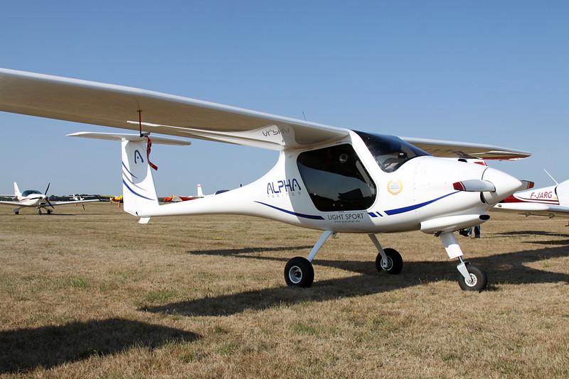 10-QA (F-JUVL) Pipistrel Alpha Trainer c/n 706 AT 912 Blois/LFOQ/XBQ 02-09-18