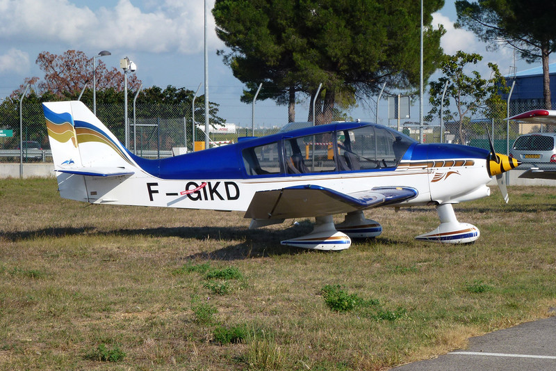 F-GIKD Robin DR.400-180 Regent c/n 1914 Montpellier-Mediterranee/LFMT/MPL 16-09-11