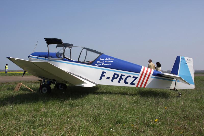 F-PFCZ Jodel D.112 c/n 032 Beaune/LFGF/XBV 17-04-10