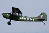 F-AZMX (16744/744) Cessna L-19E Bird Dog c/n 24557 Dijon-Darois/LFGI 07-06-13
