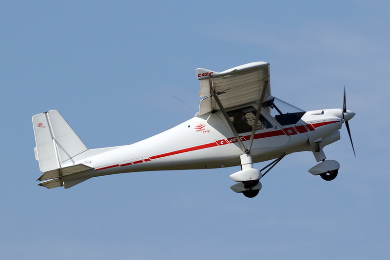 31-ABR (F-JCCI) Ikarus Comco C-42 Cyclone c/n unknown Toulouse-Lasbordes/LFCL 20-03-21