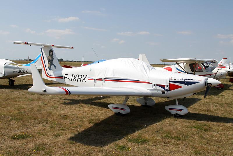 26-YQ (F-JXRX) Dova Aircraft DV-1 Skylark c/n 07/18 Blois/LFOQ/XBQ 01-09-18