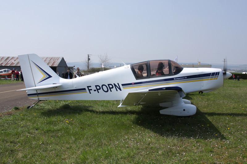 F-POPN Jodel D.140E Mousquetaire c/n 486 Beaune/LFGF/XBV 17-04-10