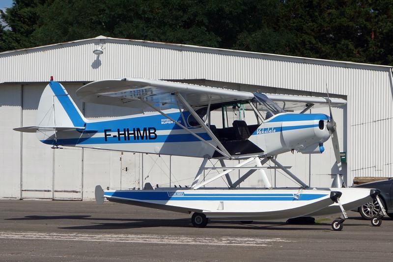 F-HHMB Piper PA-18-150 Super Cub c/n 18-7709053 Dijon-Darois/LFGI 07-09-15