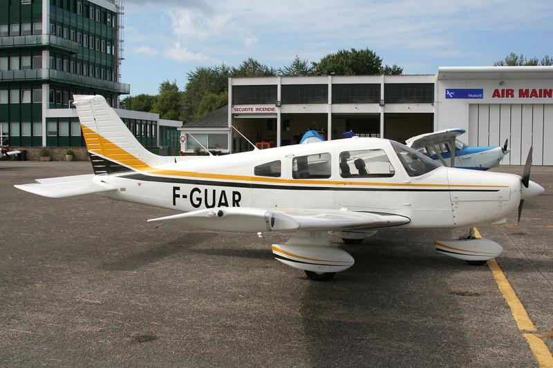 F-GUAR Piper PA-28-161 Warrior II c/n 28-7816576 Le Touquet/LFAT/LTQ 09-09-07