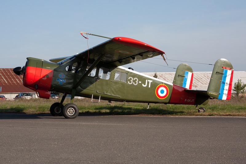 F-GKJT (33-JT/106) Max Holste MH.1521M Broussard c/n 106 Dijon-Darois/LFGI 24-04-10