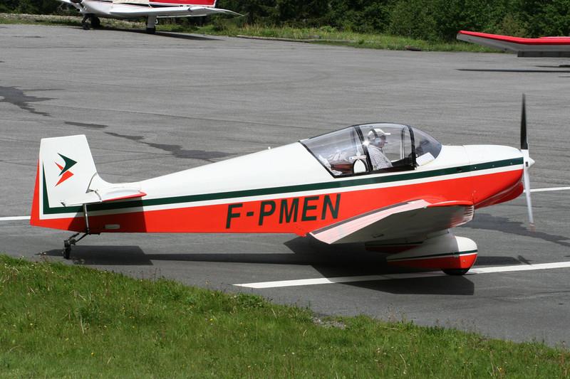 F-PMEN  Jodel D.119 c/n 219 Megeve/LFHM/MVV 13-06-07