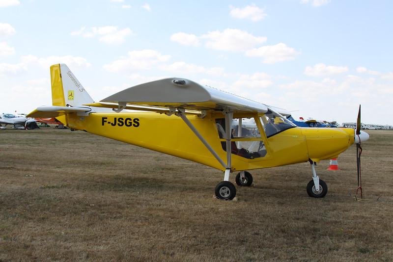 01-ADS (F-JSGS) I.C.P. MXP-740 Savannah c/n 13-05-54-0269 Blois/LFOQ/XBQ 01-09-18