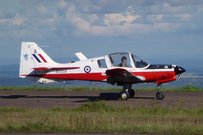 F-AZOG (A/XX558) Scottish Aviation SA.120 T1 Bulldog c/n 254 Dijon-Darois/LFGI 05-09-11