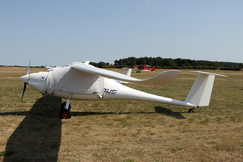 76-MN (F-JPFX) Pipistrel Sinus 912 c/n 157S912204 Blois/LFOQ/XBQ 01-09-18