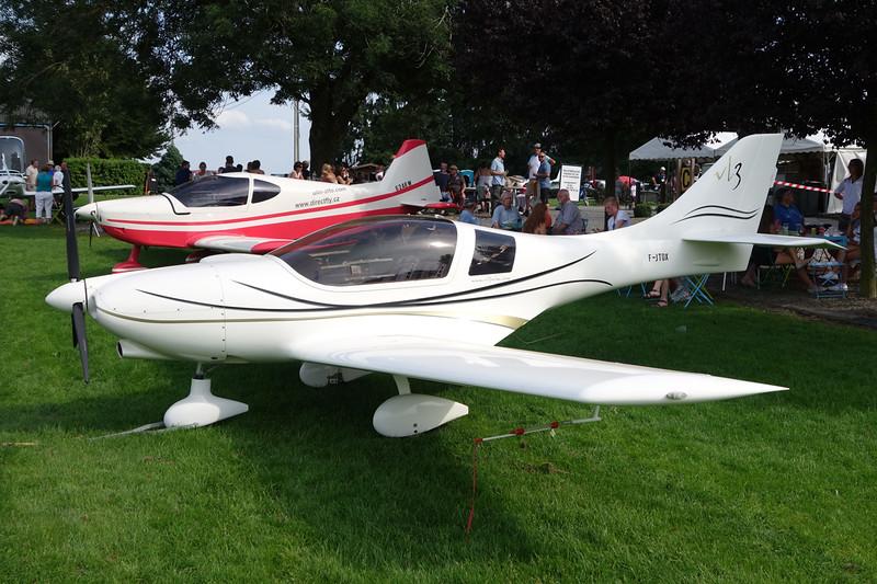 59-DFO (F-JTOX) Vanessa Air VL-3 Flamingo c/n VL-3-022 Maillen/EBML 30-08-15