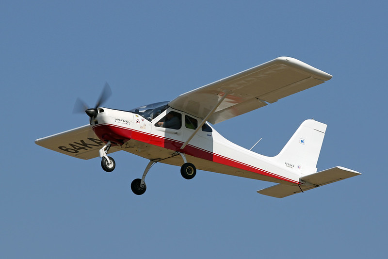 64-KA (F-JKDQ) Tecnam P.92 Echo c/n 675 Blois/LFOQ/XBQ 01-09-18