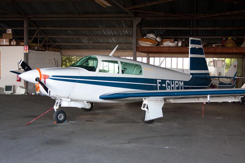 F-GHPM Mooney M.20J c/n 24-1640 Dijon-Darois/LFGI 27-09-09