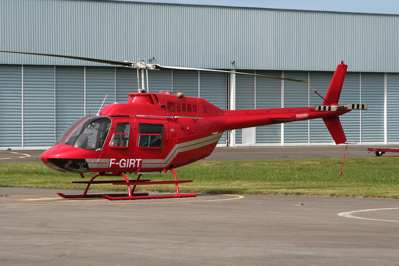 F-GIRT Bell Helicopters 206B Jet Ranger II c/n 1924 Le Touquet/LFAT/LTQ 09-09-07