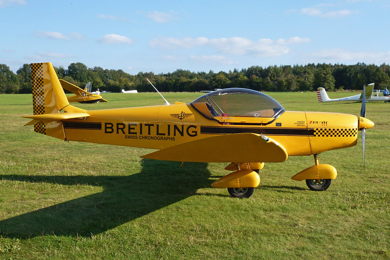 "59-XU Zenair CH.601 Zodiac c/n 6-9011 Verviers-Theux/EBTX 16-09-12 ""Breitling"""