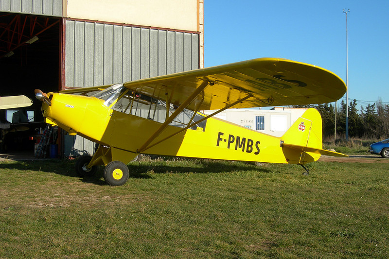 F-PMBS WAG-Aero Sport Trainer c/n 2196 Montpellier-Candillargues/LFNG 06-02-11