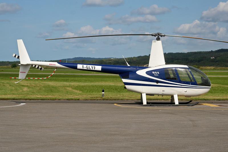 F-GLYF Robinson R-44 Astro c/n 0272 Le Touquet/LFAT/LTQ 09-09-07