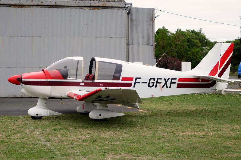 F-GFXF Robin DR.400-120 Petit Prince c/n 1753 Chateauroux-Villers/LFEJ 27-08-15