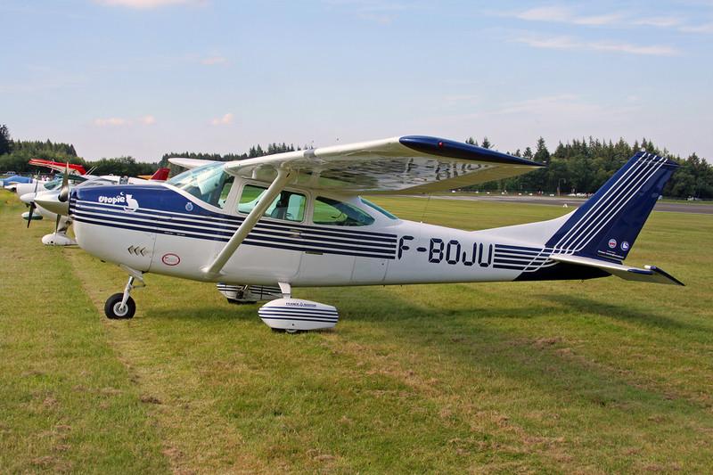 F-BOJU Cessna182K c/n 182-57740 Spa-La Sauveniere/EBSP 04-08-07
