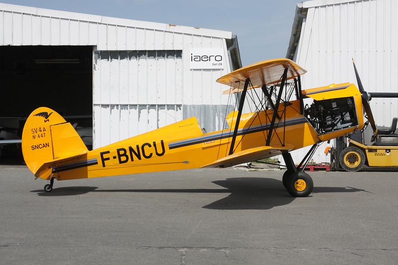 F-BNCU SNCAN Stampe SV.4C c/n 447 Dijon-Darois/LFGI 25-04-10