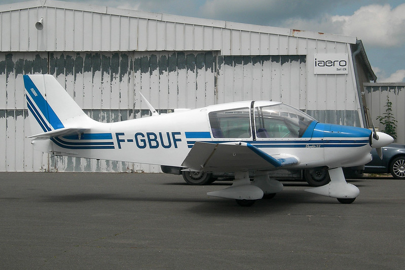 F-GBUF Robin DR.400-120A Petit Prince c/n 1355 Dijon-Darois/LFGI 15-06-12