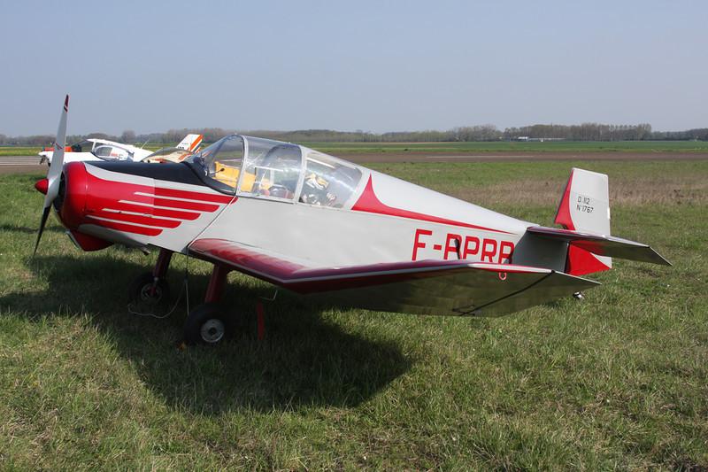 F-PPRB Jodel D.112 c/n 1767 Beaune/LFGF/XBV 17-04-10
