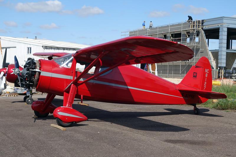 F-AYSE (NC81273) Fairchild F.24W-46 Argus c/n 46-173 Dijon-Darois/LFGI 07-09-15