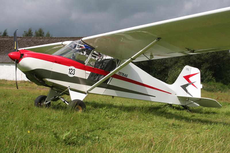 10-JG Humbert Tetras 912CS c/n unknown Verviers-Theux/Laboru/EBTX 02-09-07
