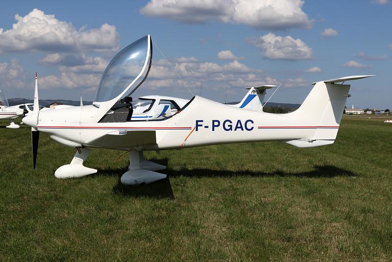 F-PGAC Dyn'Aero MCR-01 Banbi c/n 03 Pontarlier/LFSP 21-09-19