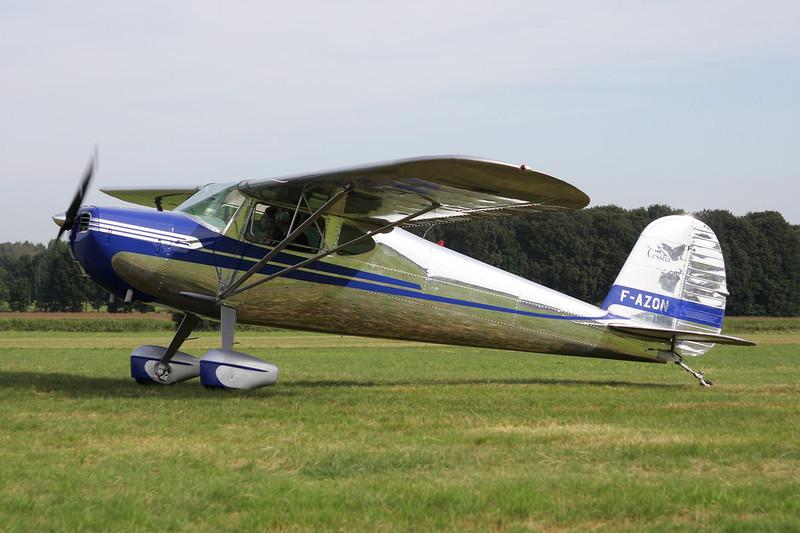 F-AZON Cessna 140 c/n 12839 Schaffen-Diest/EBDT 12-08-12